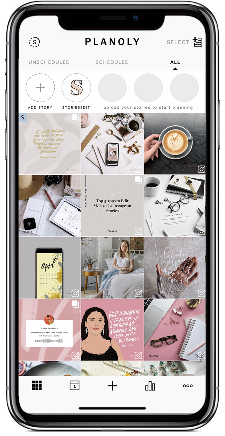 Planoly: Visually plan, manage, and schedule your Instagram posts